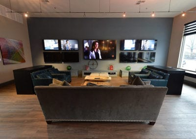 Lounge TV Area