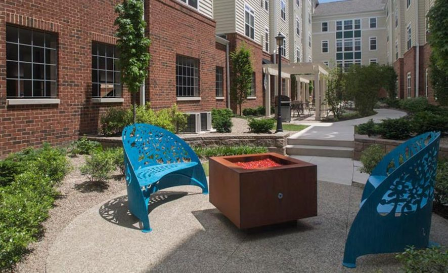 University Edge Courtyard